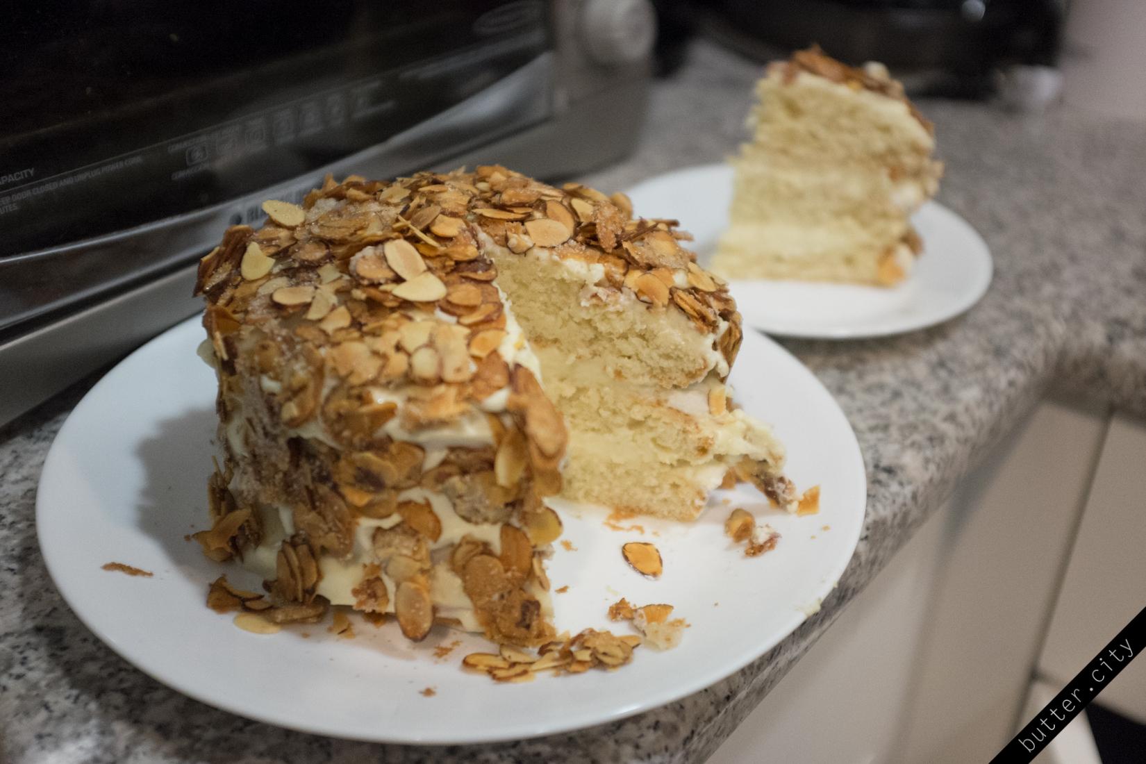Burnt Almond Cake Butter City